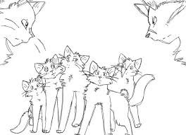 Small Picture 21 best Warrior cat coloring pages images on Pinterest Warrior