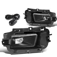 2015 Chevy Silverado 1500 Fog Light Bulb For 2014 To 2015 Chevy Silverado 1500 Pair Front Bumper Led Fog Light Lamp Switch Clear Lens