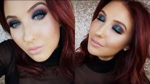 bright e colorful fall makeup look jaclyn hill