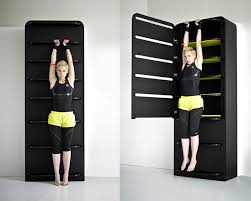 gym furniture. lucie koldovu0027s fitness furniture turns closet table into home gym equipment i