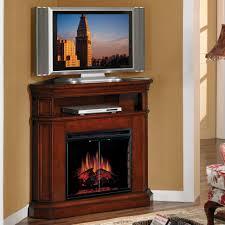 tall brown varnished gany wood corner tv stand with a shelf remarkable corner tv stands