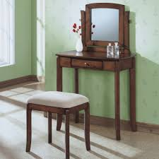 Makeup Tables For Bedrooms Bedroom Best Engaging Mirror Together Chair For Broken