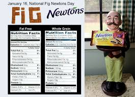 january 16 national fig newton day nutrition and how it s made