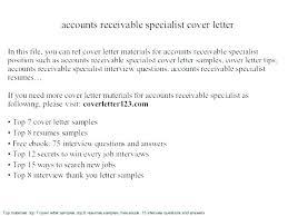 Accounts Receivable Specialist Resumes Accounts Payable Specialist Resume Accounts Payable Resume Accounts