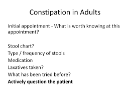 Constipation In Adults Ppt Download