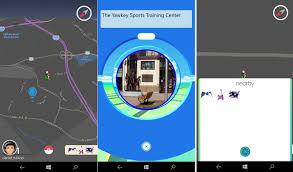 Hướng dẫn chơi Pokemon Go trên Windows Phone