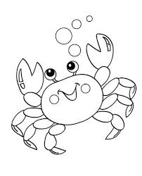 Make Coloring Pages Out Of Photos Online Top Free Printable Crab