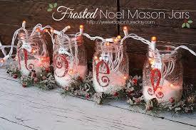 Christmas Decorated Mason Jars How to make noel mason jars Hometalk 18