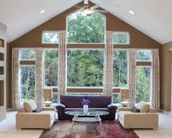 Large Living Room Window Treatment Window Treatments Ideas Large Windows Living Room Window