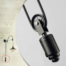cheap sconce lighting. cheap industrial lighting pulley shaped adjustable wall sconce l