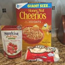 strawberry honey nut cheerios cereal bars this 4 ing dessert recipe is simple and delicious