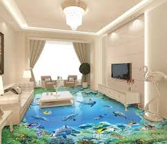 custom printed ceramic tiles awesome custom 3d stereoscopic living room wallpaper 3d floor tiles the