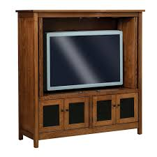 Centennial Enclosed TV Cabinet | Amish Furniture, Amish Furniture ...