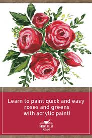 how to paint roses tutorial painting roses is easy