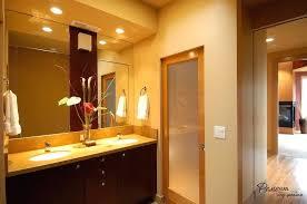 modern bathroom doors simply brown wooden framed frosted glass door design for modern bathroom ideas stunning