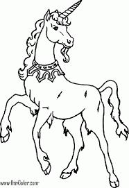 Colorazione Di Unicorno Pagina 05 Pagine Da Colorare Stampabili
