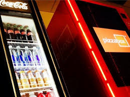 Automated Pizza Maker Vending Machine Extraordinary Pizza Box Vending Machine Business Insider