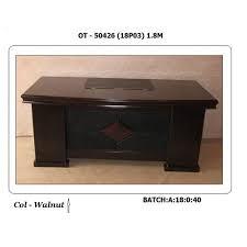 Image Taihan Co Wooden Rectangular Designer Office Table Office Furniture Wooden Rectangular Designer Office Table Rs 15000 unit Furniture