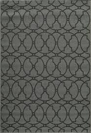 designers image beachcomber charcoal indoor outdoor area rug 8 6 x 13