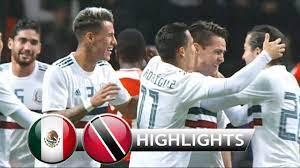 Mexico vs Trinidad & Tobago 2-0 ...