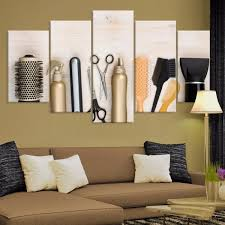 awesome design ideas salon wall art home designing inspiration beauty hair multi panel canvas mighty paintings