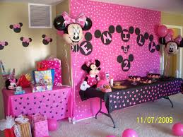 2 Year Birthday Ideas Birthday Parties For Girls Minnie Mouse Birthday Party Bianca