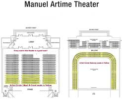 36 Cogent Manuel Artime Theater Seating Chart