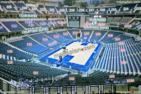 Fedexforum View From Section 102 Row Hh Seat 6