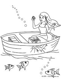 Small Picture Mermaid with a dolphin coloring pages Hellokidscom