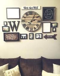 Wall Art With Clock Bedroom Wall Clock Wall Decoration Wall Decor Wall Art  Wall Decor Ideas . Wall Art With Clock ...