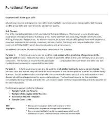 What Is A Functional Resume Interesting Example Of A Functional Resume Format Lovely Examples Expertise