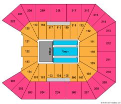 Galen Center Seating Chart