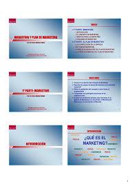 Planificacion De Marketing Marketing Y Plan De Marketing