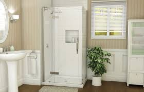 azure 4234 corner shower advanta by maax
