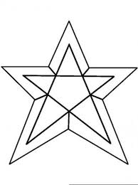 Small Picture Coloring Page Of A Star Coloring Pages Star Free Printable