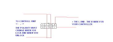 dual stock door lock actuator triggering rx7club com dual stock door lock actuator triggering keyless jpg