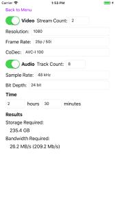 4k Pace Chart Echomist Storagecalculator