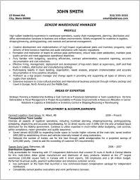 Sample Warehouse Management Resume Warehouse Management Resume Sample Resume Resume Examples