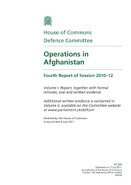Calaméo Operations In Afghanistan British Report July 2011