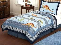 twin size dinosaur bedding dinosaur bedding for twin bed blue green dinosaur block bedding twin or full comforter set bed