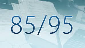 Resultado de imagem para aposentadoria nova regra 85/95