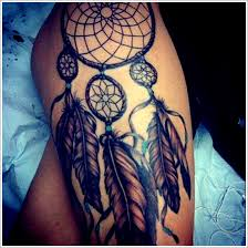 Dream Catcher Tattoo On Thigh Elegant Dreamcatcher Tattoo on Thigh dreamcatcher tattoos 10