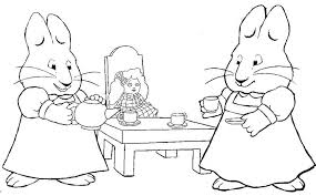 Max And Ruby Coloring Pages Enjoy Coloring Animation Coloring