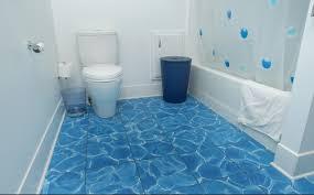 blue bathroom floor tiles. Bathroom Floor Options \u2013 5 Ideas Bathroom Flooring For You » Recycled Water Blue  Tile Floor Options Tiles I
