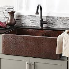 copper nickel kitchen sinks