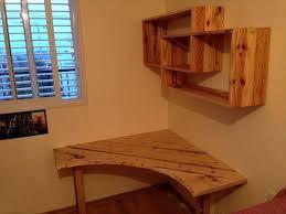 best diy corner desk ideas diy pallet desk with art style shelves