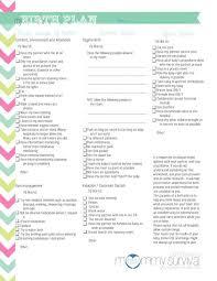 Customizable Birth Plan Editable Birth Plan Zlatan Fontanacountryinn Com