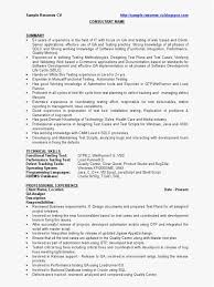 Sample Resume For Experienced Software Tester Qtp Sample Resume for software Testers New software Testing Resume 53