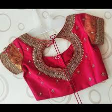 Designer Blouse Patterns For Pattu Sarees No Photo Description Available Saree Blouse Neck Designs