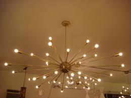 atomic lighting. wonderful lighting extra large atomic sputnik brass starburst light fixture 36 arms 600  chandelier sold 280000 by ebay seller palmspringsvintage check it out here to lighting